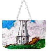 Lighthouse Nova Scotia Weekender Tote Bag