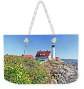 Lighthouse Of Maine Weekender Tote Bag