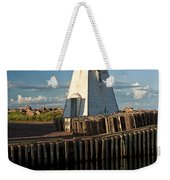 Lighthouse On A Channel By Cascumpec Bay On Prince Edward Island No. 095 Weekender Tote Bag