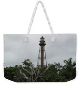 Lighthouse On Sanibel Island Weekender Tote Bag