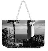 Lighthouse On The Bluff Weekender Tote Bag