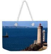 Lighthouse On The Coast, Phare Du Petit Weekender Tote Bag