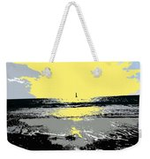 Lighthouse On The Horizon Weekender Tote Bag