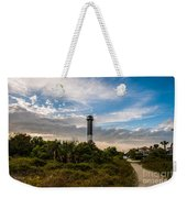 Lighthouse Pathway Weekender Tote Bag