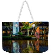 Lighthouse Reflection Weekender Tote Bag by Adrian Evans
