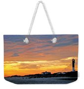 Lighthouse Sunset By Jan Marvin Weekender Tote Bag