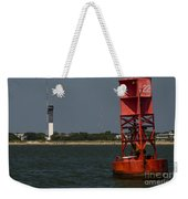 Lighthouse To Buoy Weekender Tote Bag