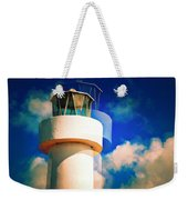Lighthouse To The Clouds Weekender Tote Bag
