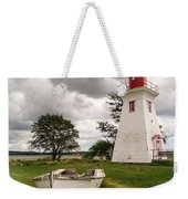 Lighthouse Victoria By The Sea Pei Weekender Tote Bag