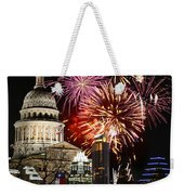 Lighting Up Austin Weekender Tote Bag