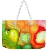Lightness Of Being Abstract Art By Sharon Cummings Weekender Tote Bag