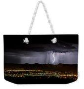 Lightning 1 Weekender Tote Bag