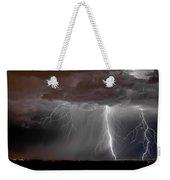Lightning 8 Weekender Tote Bag
