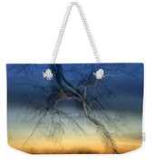 Lightning Branches Weekender Tote Bag