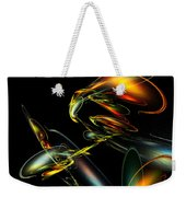 Lightning Bug Weekender Tote Bag
