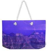 Lightning Storm North Rim Grand Canyon National Park Arizona Weekender Tote Bag