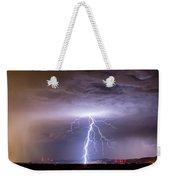 Lightning Strikes Following The Rain  Weekender Tote Bag