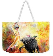 Lightning Strikes Weekender Tote Bag