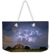 Lightning Thunderstorm Busting Out Weekender Tote Bag