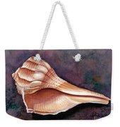 Lightning Whelk Weekender Tote Bag