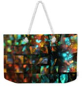 Lights And Fractures Weekender Tote Bag