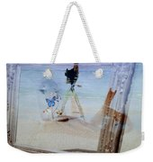 Lights Butterflies Sand And Surf Weekender Tote Bag