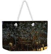 Lights In Rockefeller Center Weekender Tote Bag
