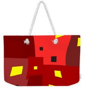 Lights On Lights Off Weekender Tote Bag