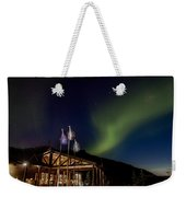 Lights Over Princess Denali Lodge Weekender Tote Bag