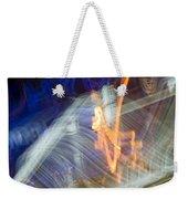 lights 'V Weekender Tote Bag