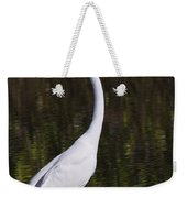 Like A Great Egret Monument Weekender Tote Bag