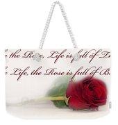 Like The Rose Weekender Tote Bag