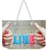 Like Weekender Tote Bag