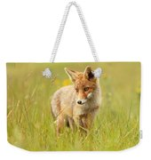 Lil' Hunter - Red Fox Cub Weekender Tote Bag