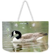Lila Goose Queen Of The Pond 2 Weekender Tote Bag