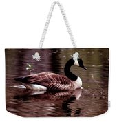 Lila Queen Of The Pond Weekender Tote Bag