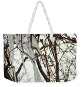 Lilac And Ice Weekender Tote Bag