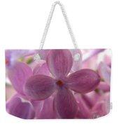 Lilac Bloom Weekender Tote Bag