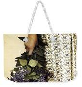 Lilac Bouquet Weekender Tote Bag