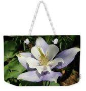 Lilac Columbine Weekender Tote Bag
