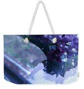 Lilac Glass Weekender Tote Bag