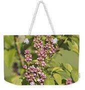 Lilac In Spring Weekender Tote Bag