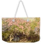 Lilac In The Sun, 1873 Weekender Tote Bag