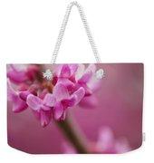 Lilac Macro Weekender Tote Bag
