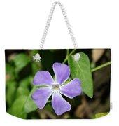 Lilac Periwinkle Weekender Tote Bag