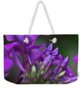 Lilac Petals And Purple Buds Weekender Tote Bag