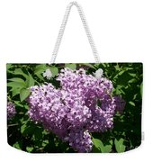 Lilac Ready For A Closeup Weekender Tote Bag