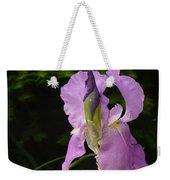 Lilac Siberian Iris Weekender Tote Bag