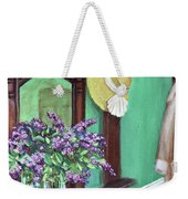 Lilac Time Weekender Tote Bag