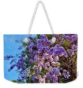 Lilac Tree Weekender Tote Bag